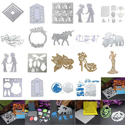 Metal Cutting Dies Stencil Scrapbook Paper Cards Craft Embossing DIY Die Cut New