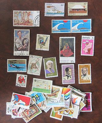 Australian stamps: decimal 1970s (1970-1979) 50 different used