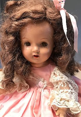 Antique Baby Doll Composition Head & Limbs with Cloth Body 21 Inches Tall