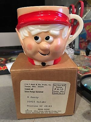 Ernie The Elf Keebler Elf Cup Mint In Mailer Box 1972 F&f Mold Free Shipping