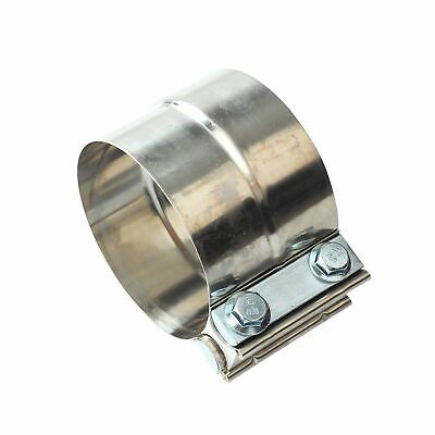 """Butt Joint Band 4/""""Clamp T304 Clamp for Downpipe Exhaust Catback Muffler Downpipe"""