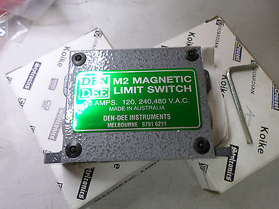 ITC - DEN DEE - MAGNETIC LIMIT SWITCH - TYPE M2 - Qty of 2 - 15amps switching