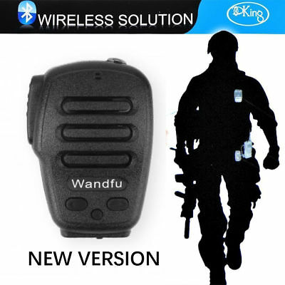 Ham Radio PTT Speaker For iPhone / Android/ Walkie Talkie For ZELLO Bluetooth