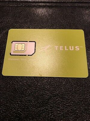 Telus Sim Card New