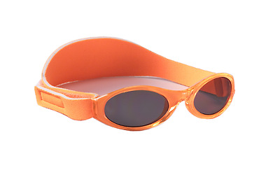 New Adventure Kidz Banz Sunglasses Orange Uv Protection Durable Daily Soft Care