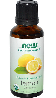 New Now Foods Organic Essential Oils Aromatherapy Purifying Pure Lemon Daily