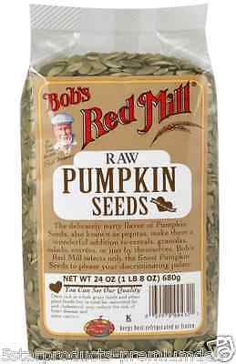 New Bob's Red Mill Pumpkin Seeds Food Groceries Natural Raw Protein & Minerals