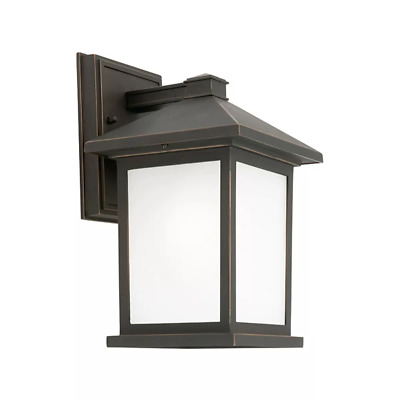 NEW Cougar Lighting Plymouth Frost Glass Outdoor Coach Wall Light - PLYM1E