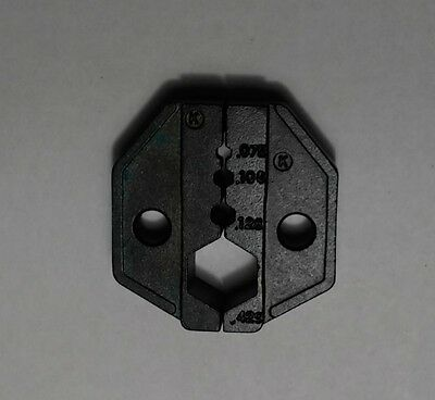 "Hex Die .429"" .128"" .100"" LMR400 RG 8,213,214 RF Coaxial cable Crimper tool"