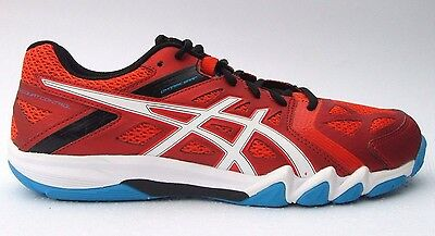 Mens asics Gel Court Control Badminton Trainers Shoes Size UK 7.5 Indoor Court