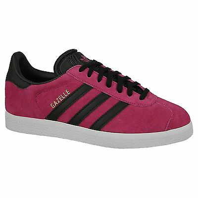 Adidas Gazelle Unity Pink Black Mens Suede Originals Trainers Sneakers Shoes