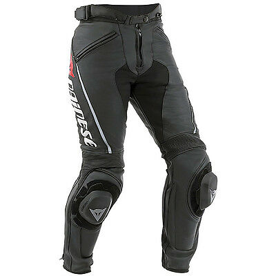 Dainese Delta Pro C2 Black / Black Motorcycle Ladies Leather Trouser | All Sizes