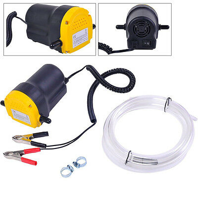 New 12v 5A Motor Oil Diesel Extractor Scavenge Suction Transfer Change Pump Tool