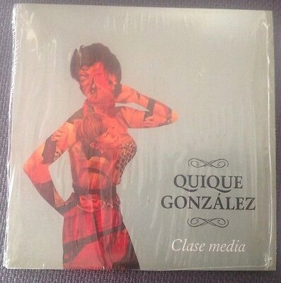 "Quique Gonzalez ""Clase Media"", Single 7"", Ltd. 300, Nm, Vinyl"