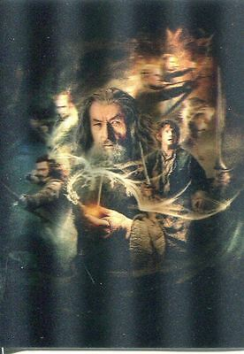 Hobbit Desolation Of Smaug Lenticular Poster Chase Card KA08 (Binder Exclusive)