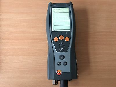 TESTO 327-1 Flue Gas Analsyer SN 01736768  NO CURRENT CALIBRATION