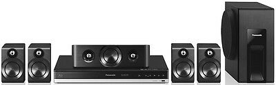 Panasonic SC-BTT405EBK Smart 3D Blu-ray 600W 5.1 Home Cinema System - Bluetooth