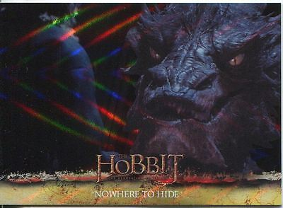 The Hobbit Desolation Of Smaug Parallel Foil Base Card #66