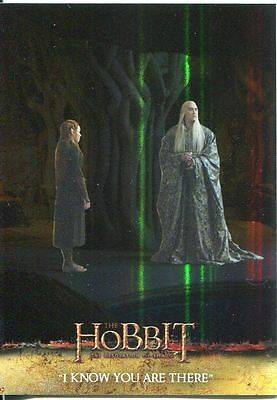The Hobbit Desolation Of Smaug Parallel Foil Base Card #16