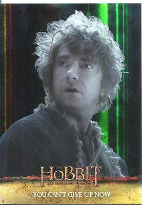 The Hobbit Desolation Of Smaug Parallel Foil Base Card #53