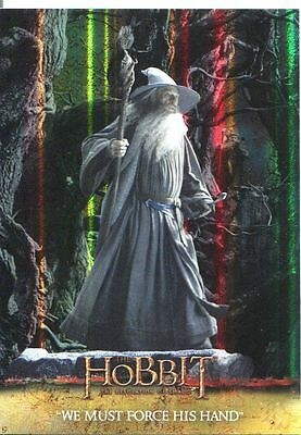 The Hobbit Desolation Of Smaug Parallel Foil Base Card #50