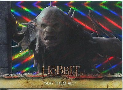 The Hobbit Desolation Of Smaug Parallel Foil Base Card #19