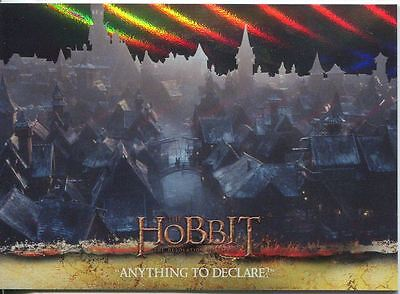 The Hobbit Desolation Of Smaug Parallel Foil Base Card #34