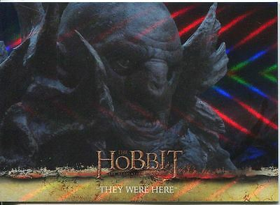The Hobbit Desolation Of Smaug Parallel Foil Base Card #30