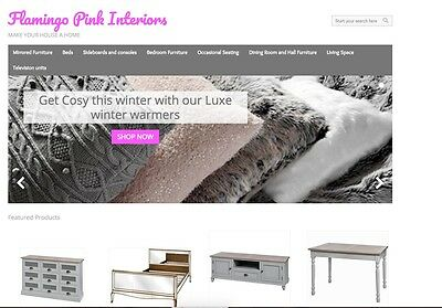 Established Luxury Furniture Website/business For Sale With Facebook Page!