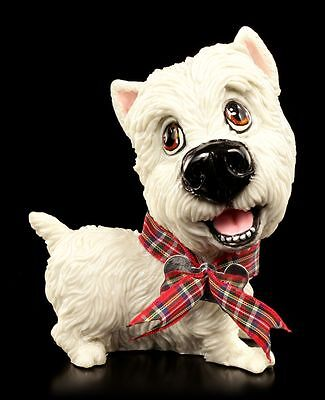 Hunde Figur - West Highland White Terrier Harry - Little Paws - Comic-Look