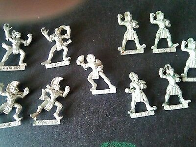 1994 Wood Elf Bloodbowl 3rd Edition Team Citadel Athelorn Avengers 10 players