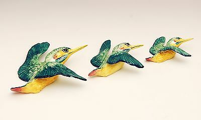Perfect set of Beswick Flying Kingfishers