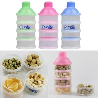 Milk Powder 4 Layers Milk Powder Case Formula Dispenser Kids Baby Feeding Travel