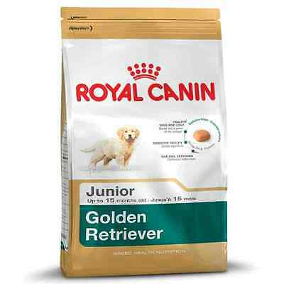 Royal Canin Breed Health Specific Golden Retriever Junior Puppy Dog Food 12kg