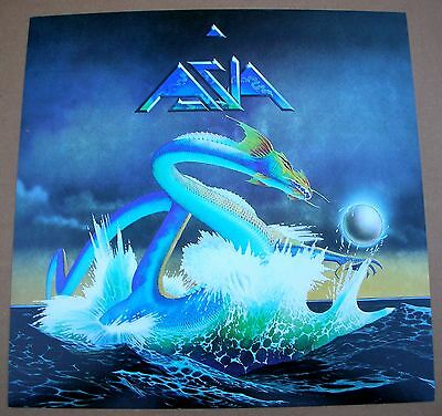 ASIA 1st Yes Roger Dean 1 Sided Promo 12x12 Poster Flat 1982 Mint-