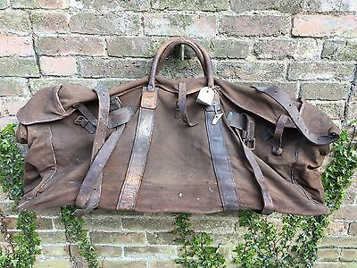 Vintage WW1 Officers Kit Bag Wilkinson Of Pall Mall London