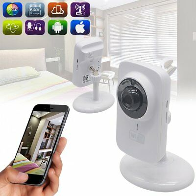 Indoor HD 720P WiFi Wireless IP CCTV Network Security Camera Night Vision