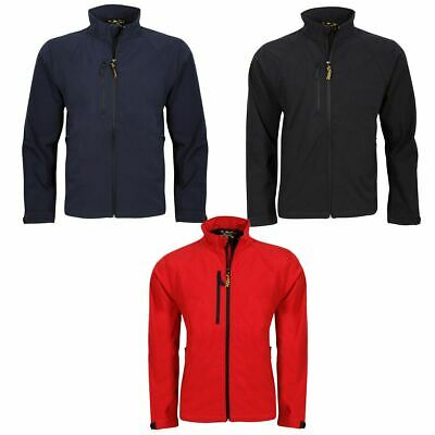 MENS SOFTSHELL LEISURE WORKWEAR JACKET XS, Small, 2XL, 3XL,4XL 8940M CLEARANCE