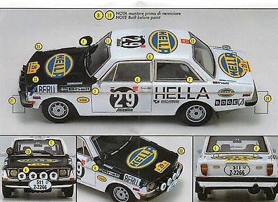 Decal #145 1/43 Volvo 142 Team Hella #29 Safari Rally 1971 Soderstrom-Palm