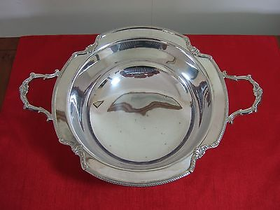 ANTIQUE SILVER PLATED FRUIT BOWL - Embassy by Gladwin Ltd of Sheffield