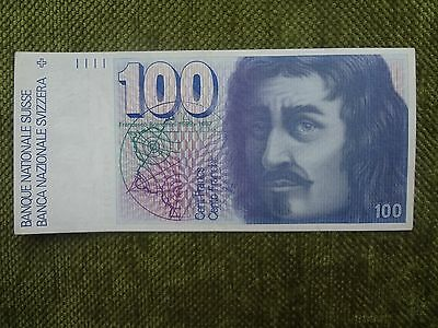 Switzerland 100 francs 1993