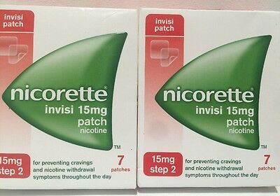 NICORETTE INVISI Step 2 Patch 2 Week Kit 14 Patches