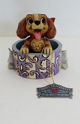 Jim Shore Walt Disney Traditions Lady & the Tramp Lovely Lady Figurine 4009255