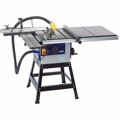 Draper 200mm 1100w 230v Cast Iron Table Saw Complete Kit 82385