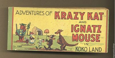 Adventures of Krazy Kat and Ignatz Mouse in Koko Land (1934 #1306 VG- 3.5