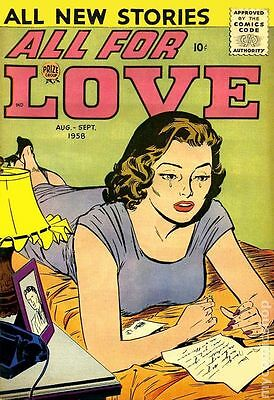 All for Love Vol. 2 (1/1959-3/1959 Prize) #3 GD/VG 3.0 LOW GRADE