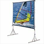 Draper Cinefold Folding Portable Rear Projection Screen