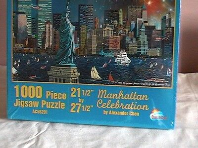 NEW: Manhattan- Twin Towers Jigsaw by Alexander Chen