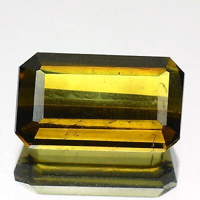 1.40 Cts Rare Fancy Green Color Natural Tourmaline