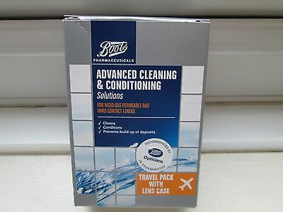 Boots Advanced Cleaning + Conditioning Solutions - Travel Pack with Lens Case
